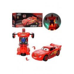 Cars Pilli Işıklı Robota...
